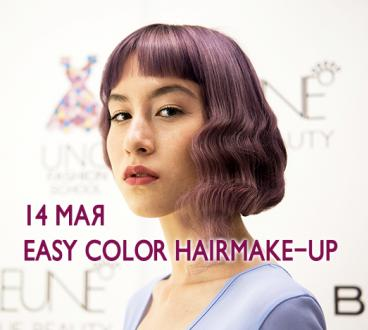 Easy color hairmake-up