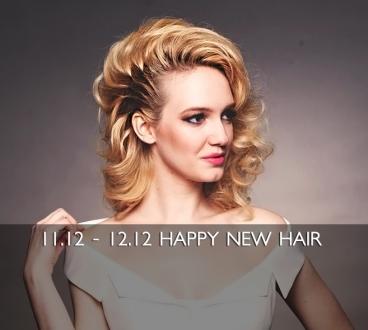 11.12 - 12.12 Коктейльные укладки. Happy new hair!