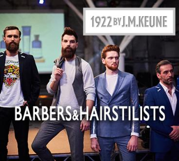 Barbers&hairstylists. Презентация мужской линии 1922 by J.M.KEUNE